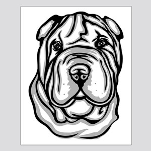 Toy Chinese Shar Pei Small Poster