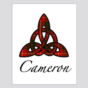 Clan Cameron Celtic Knot Small Poster