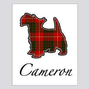 Clan Cameron Scotty Dog Small Poster