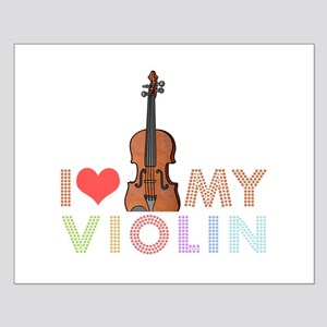I Love My Violin Small Poster