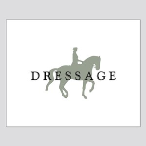 Piaffe W/ Dressage Text Small Poster