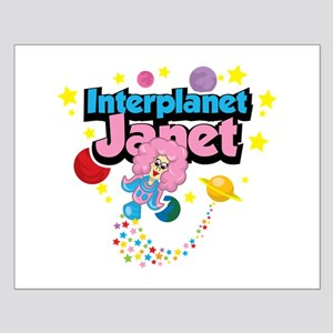 Interplanet Janet Small Poster