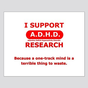 Support ADHD Research Small Poster