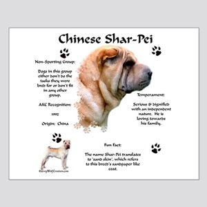 SharPei 1 Small Poster