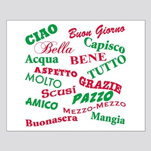 Italian Sayings Small Poster