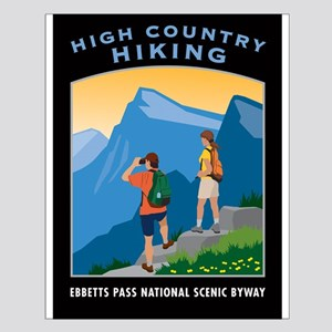 High Country Hiking - Small Poster