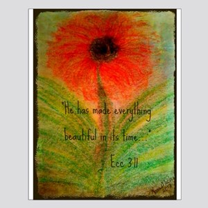 Lisas Art and Photography Small Poster
