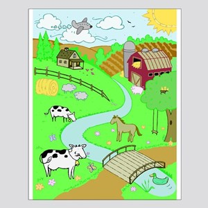 The Farm Small Poster