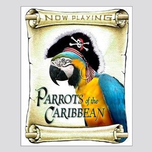 PARROTS of the CARIBBEAN Small Poster