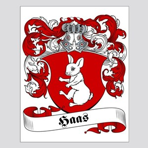 Haas Family Crest Small Poster
