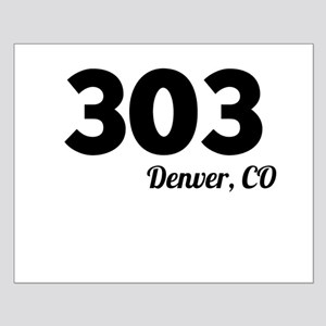 Area Code 303 Denver CO Posters
