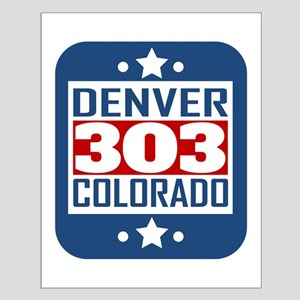 303 Denver CO Area Code Posters
