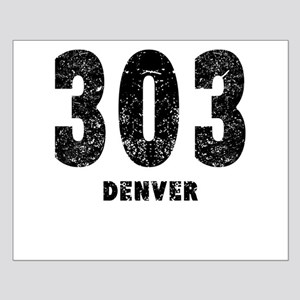 303 Denver Distressed Posters