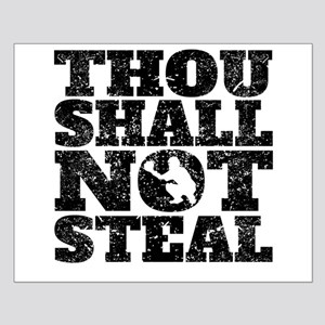 Thou Shall Not Steal Baseball Catcher Posters