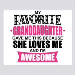 Granddaughter Small Poster