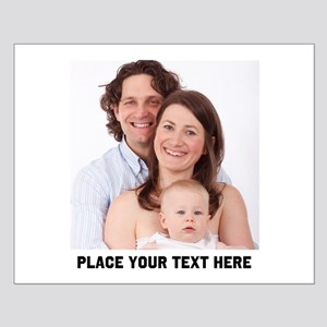 Photo Text Personalized Small Poster