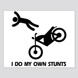 Motorcycle, motorcycle stunts Small Poster