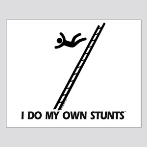 Fall down a ladder Stunts Small Poster