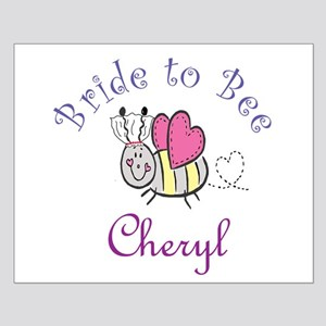 Cheryl Bride to Bee Small Poster