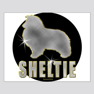 Bling Sheltie Small Poster