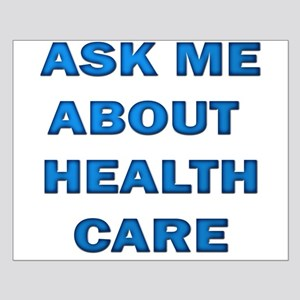 Ask Me about Healthcare in AM Small Poster