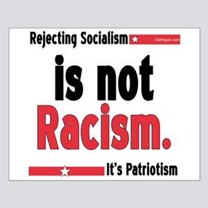 Its Not Racism Small Poster