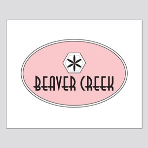 Beaver Creek Retro Patch Small Poster