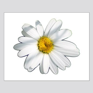 White daisy Small Poster