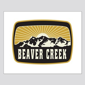 Beaver Creek Sunshine Patch Small Poster