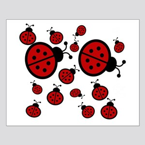 Lady Bugs Small Poster