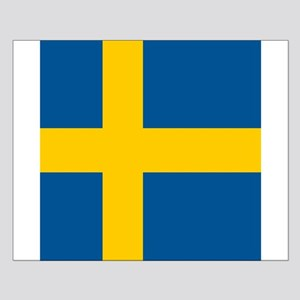 Flag of Sweden Poster Design