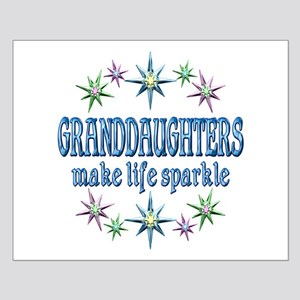 Granddaughters Sparkle Small Poster