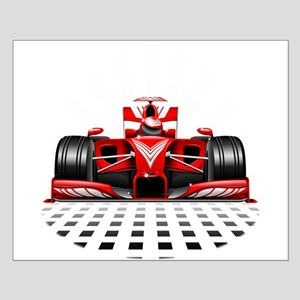 Formula 1 Red Race Car Posters