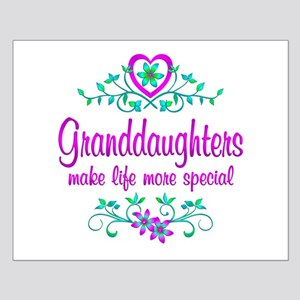 Special Granddaughter Small Poster