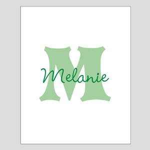 CUSTOM Green Monogram Posters