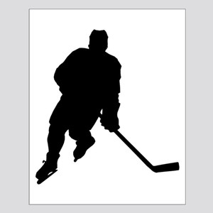 Hockey Player Small Poster