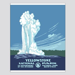 Yellowstone Travel Souvenir Small Poster