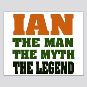 Ian the Legend Small Poster