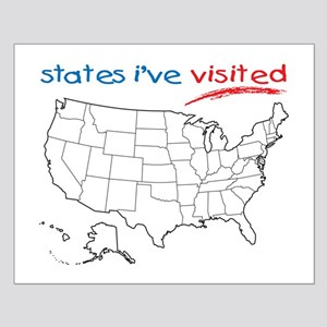 Usa Map Posters - CafePress