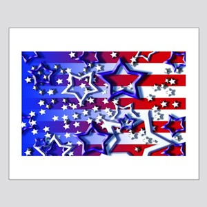 STARS & STRIPES Small Poster