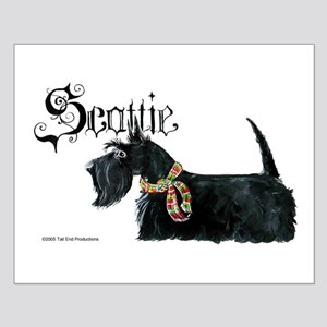 Scottish Terrier Gothic Small Poster