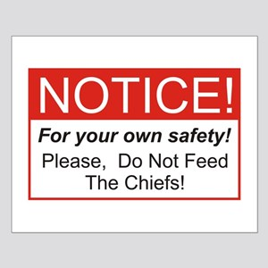 Notice / Chiefs Small Poster