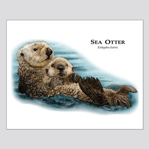 Sea Otter Small Poster
