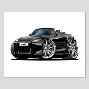 s2000 Black Car Small Poster