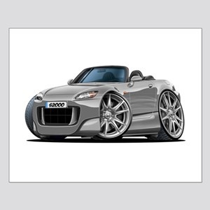 s2000 Silver Car Small Poster