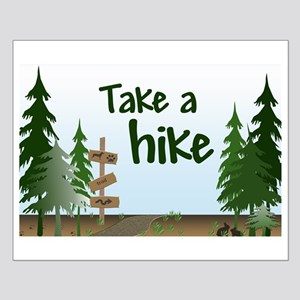 Take a hike Small Poster