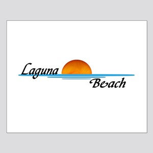 Laguna Beach Sunset Small Poster