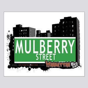 MULBERRY STREET, MANHATTAN, NYC Small Poster