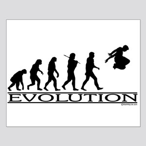 Evolution Parkour Small Poster