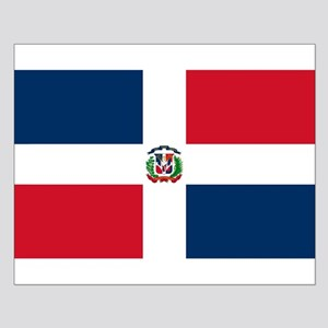 Dominican Republic Flag Small Poster